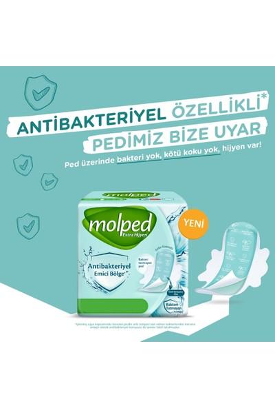 Molped Extra Hijyen Antibakteriyel Hijyenik Ped Gece 6 x 18 Adet