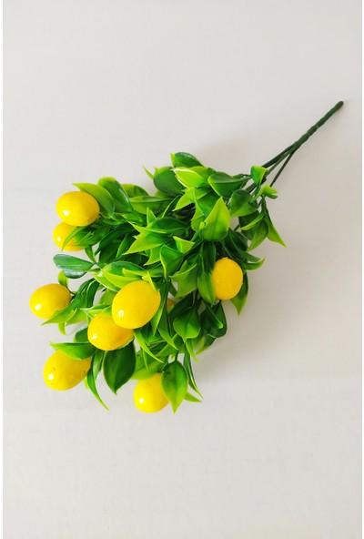 Eçiçek Yapay Limon Demeti Yapay Çiçek