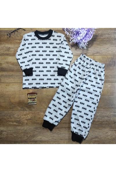 Hece Bebe Süper Yarasa Penye Pijama Takımı 3 Yaş