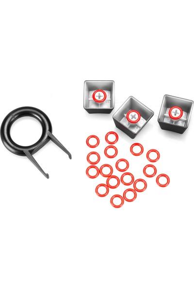 Rampage Slikon O-Ring Mekanik Oyuncu Klavye Sessizleştirici ve Tuş Sökme Aparatı (40A-L )