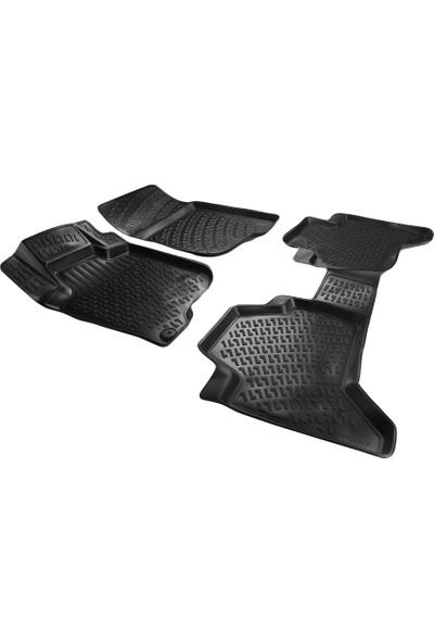 AccessoryPart Fiat Fullback 2016 Sonrası 3D Havuzlu Paspas Siyah