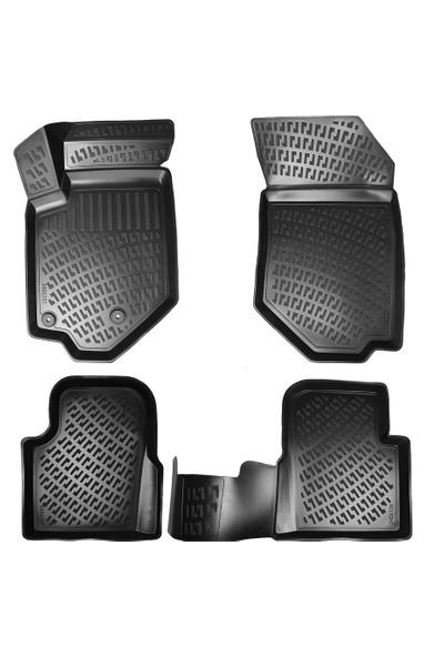AccessoryPart Peugeot 2008 2020 3D Havuzlu Paspas Siyah