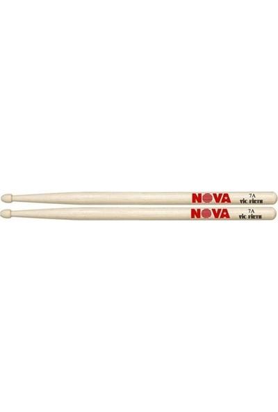 """Vıcfırth Baget(Çift) Nova 7A Wood, Hıckory, 15 1/2""""X0.540"""","""