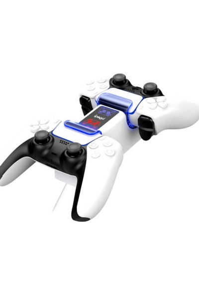 RedClick Playstation 5 Dualsense Şarj Istasyonu Ps5 Oyun Konsolu Şarj Standı