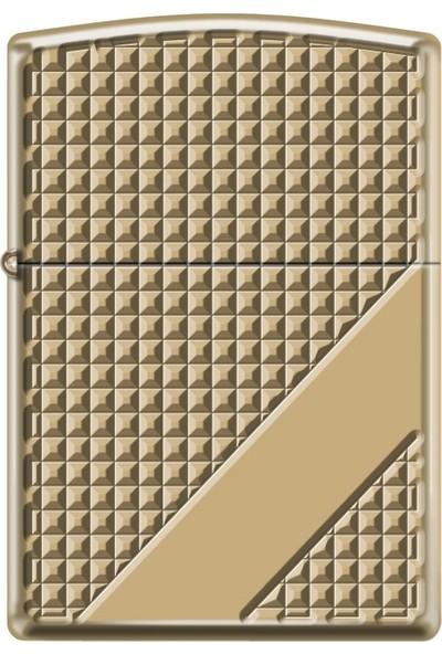 Zippo Hatch Design Gold Çakmak