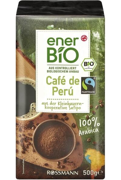 Enerbio Café De Perú Organik Kavrulmuş Kahve 500 gr
