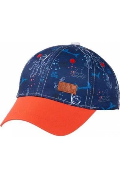 Kitti Erkek Çocuk Desenli Şapka 3-6 Yaş