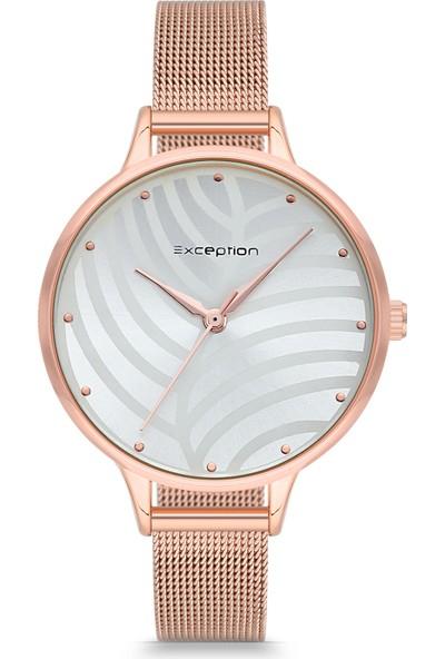 Exception Kadın Kol Saati Moda Şık Trend Kadın Rose 617904