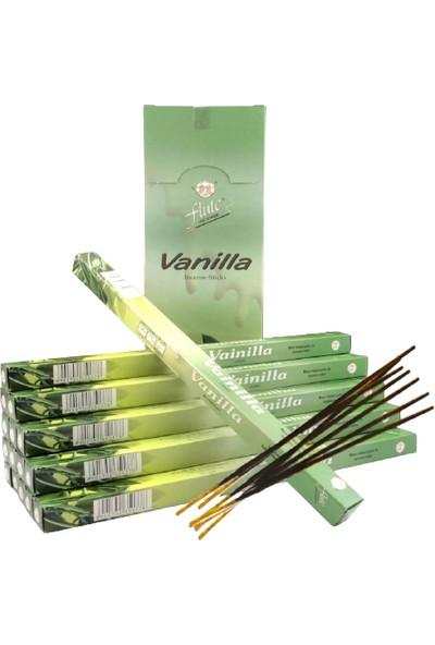 Flute Incense Çubuk Tütsü Vanilla-Vanilya 20'li