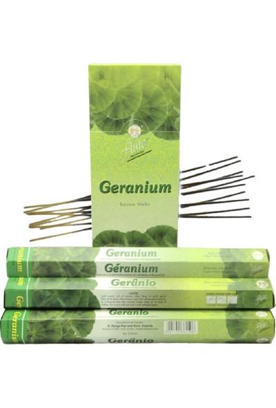 Flute Incense Çubuk Tütsü Geranium-Sardunya 20'li