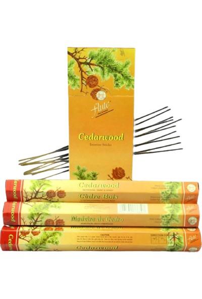 Flute Incense Çubuk Tütsü Cedarwood-Sedir Ağacı 20'li
