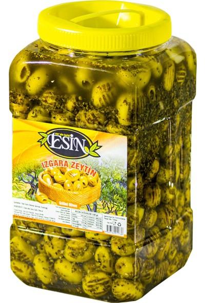 Esin Zeytin Ege'nin Incisi Esin Kahvaltılık Izgara Grill Yeşil Zeytin 1,5 kg