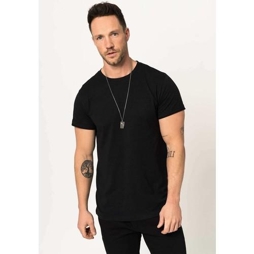 The Waw Erkek Slim Fit Likralı Pamuklu Tshirt TW1001
