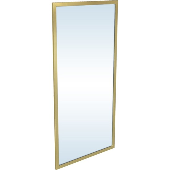 Maksa Mimarlık Edmonda Parlak Paslanmaz Titanyum Gold Ayna