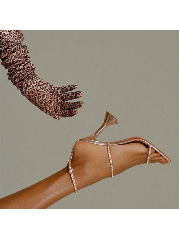 Giydim Gidiyor Charmstopuklu Sandalet Altın