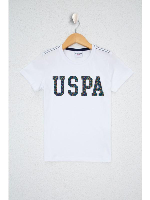 U.S. Polo Assn. Beyaz T-Shirt 50235229-VR013