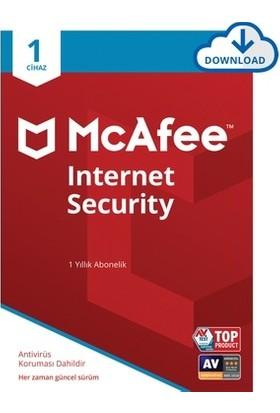 Mcafee Internet Security 1 Pc 1 Yıl 2021