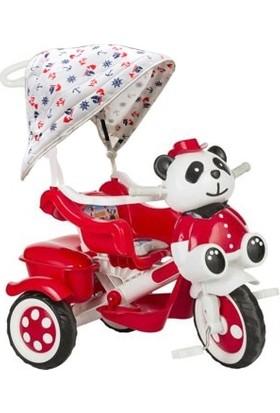 Jusso Sevimli Panda Itmeli Tenteli Bisiklet