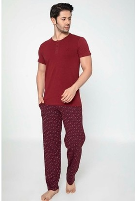 Akare Erkek Kısa Kol Pijama Takımı