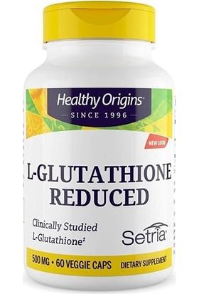 Healthy Origins L-Glutathione 500 Mg 60 Veggie Capsules