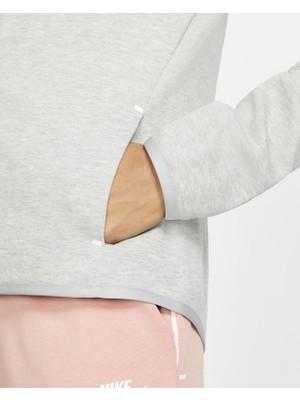 Nike Tech Fleece Hoodie Kapüşonlu Kadın Sweatshirt BV3455-063