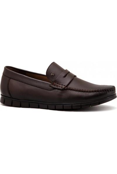 Forelli 44301 Hakiki Deri Erkek Ayakkabı - Kahve