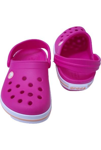 Crocs Fuşya Crocband Clog K Terlik