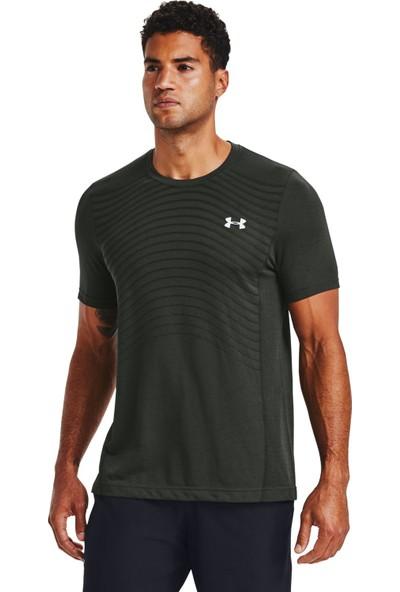Under Armour - T-Shirt - Ua Seamless Wave Ss