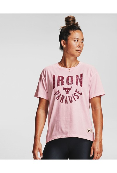 Under Armour - T-Shirt - Ua Project Rock Graphic Ss
