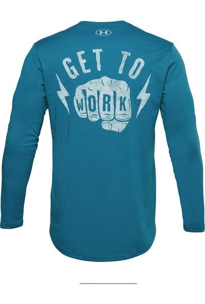 Under Armour - Uzun Kollu T-Shirt - Ua Pjt Rock Get To Work Ls