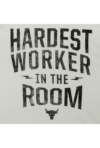 Under Armour - T-Shirt - Ua Pjt Rock Hardest Wrkr Ss