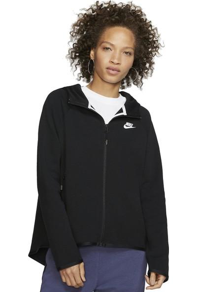 Nike Sportswear Tech Fleece Cape Full-Zip Hoodie Kadın BV7565-010 Kadın Sweatshirt