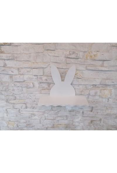 Go Baby Beyaz Tavşan Raf Kitaplık