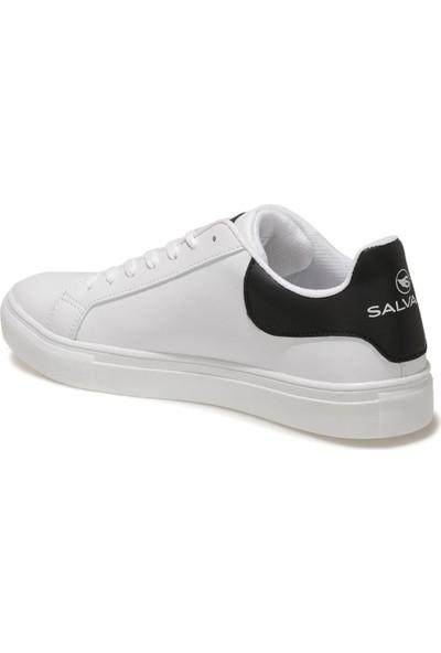 Salvano Grand 1fx Beyaz Erkek Kalın Tabanlı Sneaker