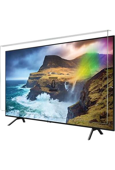 Evçelik 2.5mm Elmas Panel Samsung 50RU7100 Tv Ekran Koruyucu