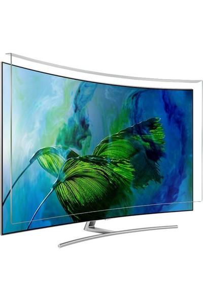 Evçelik 2.5mm Elmas Panel Samsung 88JS9500 Curved Tv Ekran Koruyucu