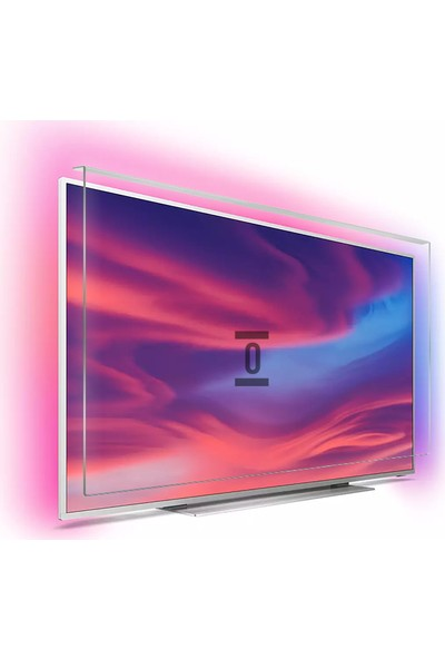 Evçelik 2.5mm Elmas Panel Philips 49PUS7101 Tv Ekran Koruyucu