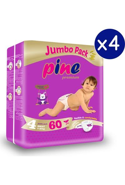 Pine Maxi (7-18 Kg) 240 Adet Jumbo Dev Bebek Bezi