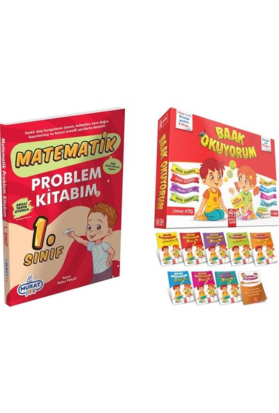 Model Çocuk Yayınları Model Çocuk Baak Okuyorum Hikaye Seti + 1.sınıf Problem Kitabım
