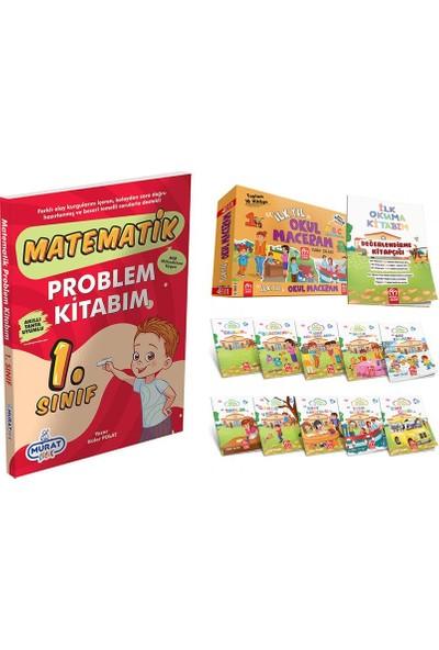 Model Çocuk Yayınları Okul Maceram Hikaye Seti + 1.sınıf Problem Kitabım