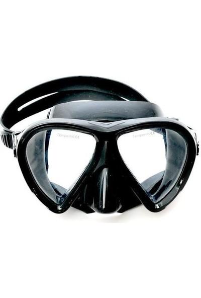 Unidive Silikon Yan Camlı Maske (7301)