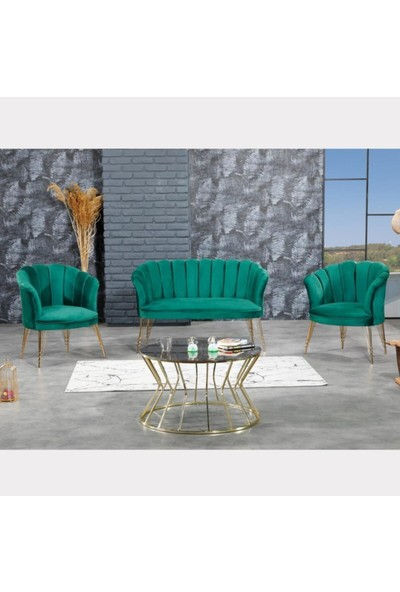 Vinda Mobilya Indirim Çadırı Papatya Çay Seti Salon, Mutfak Balkon, Bahçe, Işyerleri Koltuk Takımı 2+1+1