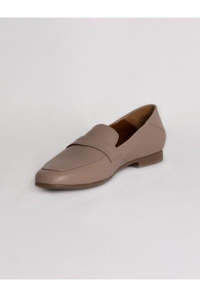 Dericlub 04102 Hakiki Deri Kadın Babet Ayakkabı