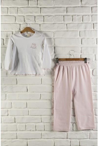 Baby Dora %100 Pamuk Penye Üst,Dokuma Alt Kız Çocuk Pj Takımı