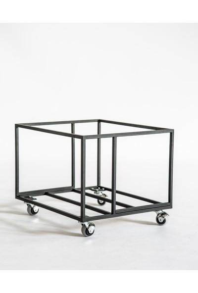 Plaklık Metal Dergilik Gazetelik Modeli Plak Düzenleyici 1 Adet Siyah