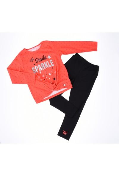 Comix Sparkle Taytlı Takım-Nar Çiçeği