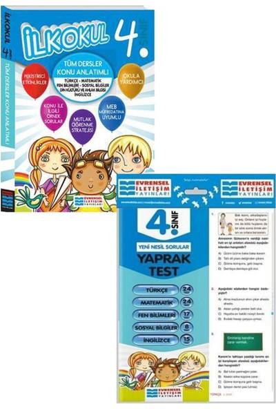 Evrensel Yayınları 4. Sınıf Tüm Drsler Konu Anlatımı ve Yaprak Test Seti
