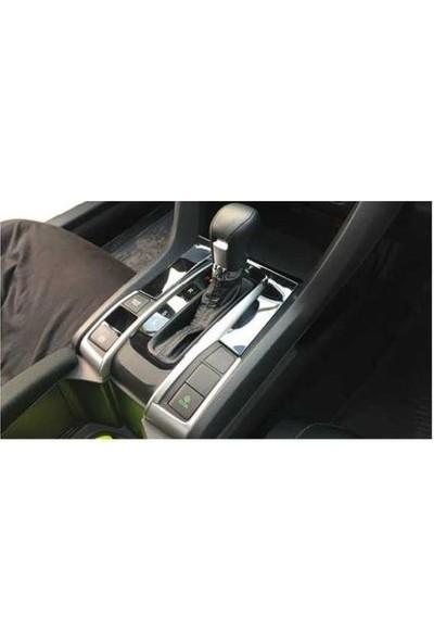 Autokit Honda Cıvıc FC5-FK7(2016+)ARAÇ Iç Kaplama Seti 9 Parça(Füme)