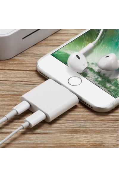 Shinwa iPhone 7 8 Plus x Xr Xs Max Kulaklık Şarj Giriş Adaptör