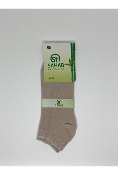 Sahab 6000 Erkek Bambu Topuk Çorap
